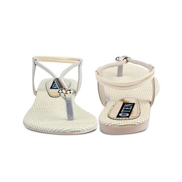 Ten Artificial Leather Beige Sandals -ts26