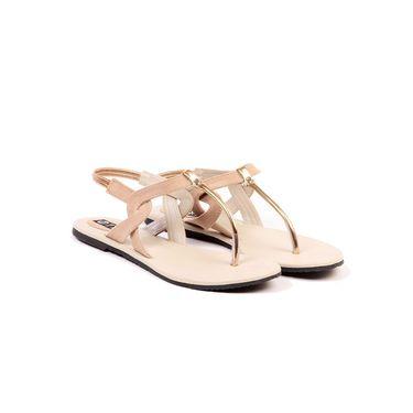 Ten Suede Beige Sandals -ts198