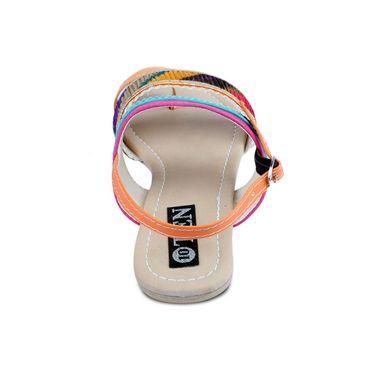 Ten Suede Multicolor Sandals -ts34