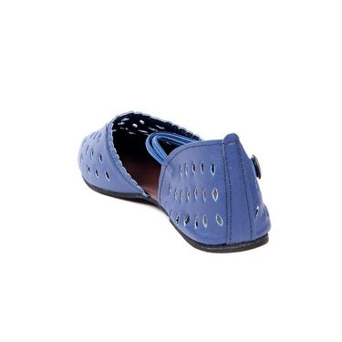 Ten Synthetic Leather 111 Women's Sandals - Blue