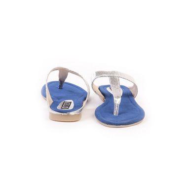 Ten Synthetic Blue Flats & Slippers -ts202