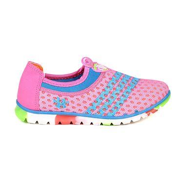 Ten Mesh Pink & Blue Womes Sports Shoes -ts335