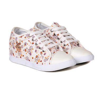 Ten Canvas White Sneakers -ts337
