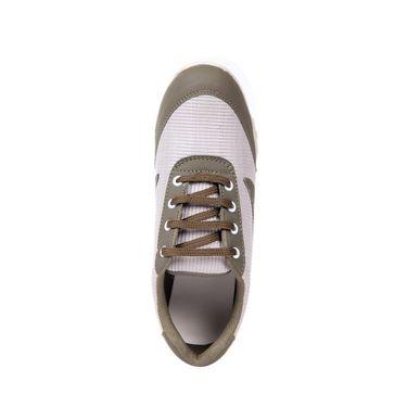 Ten Fabric Gray Sports Shoes -ts157