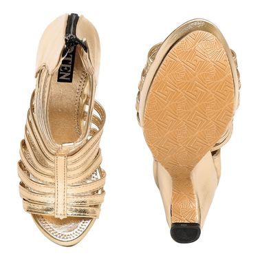 Patent Leather Gold Gladiator -wggldtrgld01