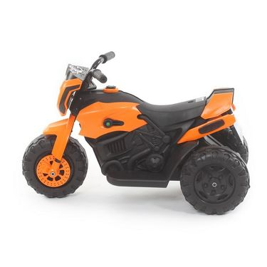 Kids ATV Electric Bike With Music and Lights - Orange