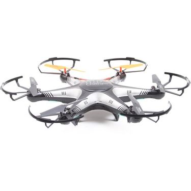 6 Axis Gyro 4Ch Ultrastable RC 3D Rollover Hexacopter - Black