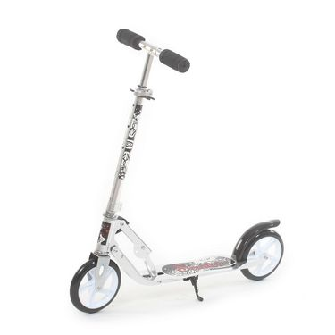 Super Style Kick Scooter for Kids - Silver