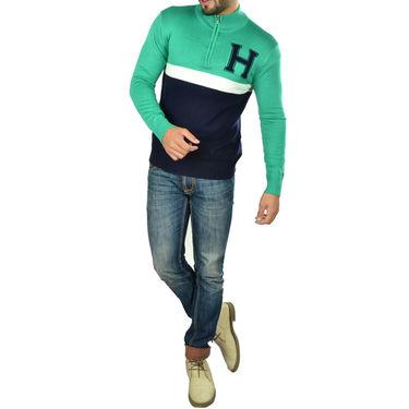 Osai Full Sleeves Sweater_Tgh02 - Green