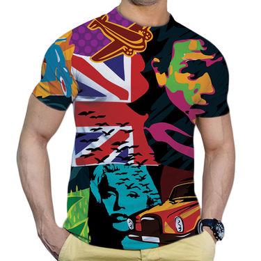 Effit Printed Casual Tshirts_Trsb0610 - Multicolor