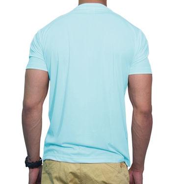 Effit Printed Casual Tshirts_Trsb0613 - Sky Blue