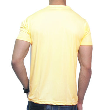 Effit Printed Casual Tshirts_Try0613 - Yellow
