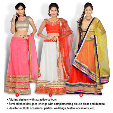 Tarana Designer Pavadai - Pick Any 1