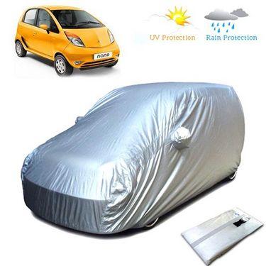 Tata Nano Car Body Cover - Silver