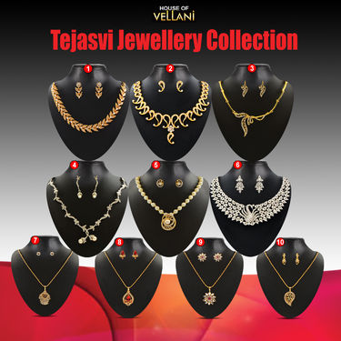 Tejasvi Jewellery Collection by Vellani