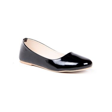 Ten Patent Leather 020 Bellies - Black