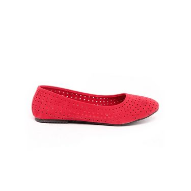 Ten Suade Leather 268 Bellies - Red