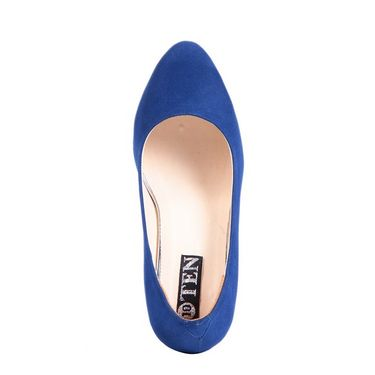 Ten Suede Leather 038 Bellies - Blue