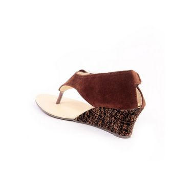 Ten Suade Leather 240 Women's Sandals - Brown
