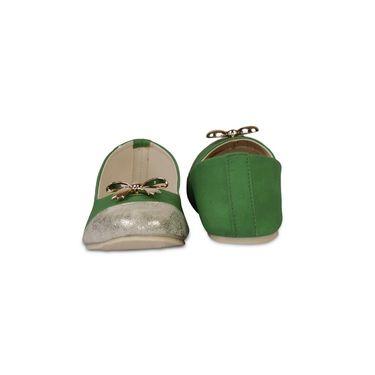 Ten Faux Leather Bellies For Women_tenbl014 - Green