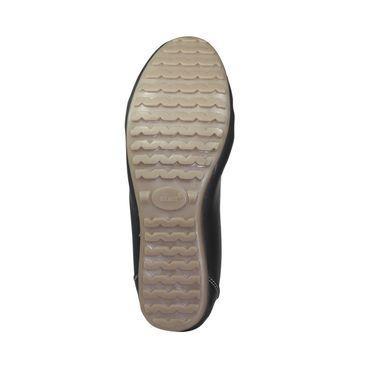 Ten Leather Loafers For Women_tenbl078 - Black