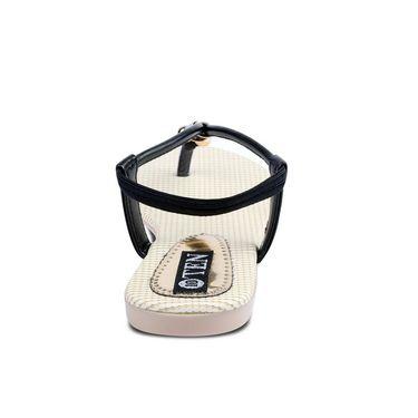 Ten Faux Leather Womes Sandals For Women_tenbl122 - Black