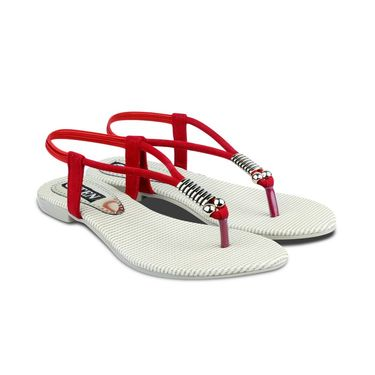 Ten Faux Leather Womes Sandals For Women_tenbl123 - Red