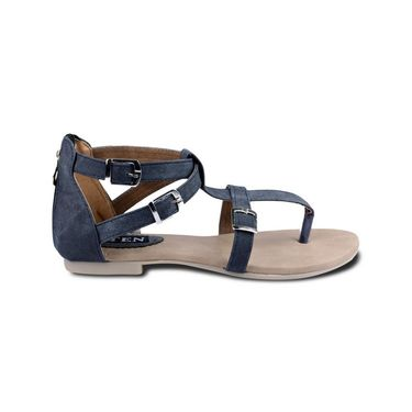 Ten Fabric Womes Sandals For Women_tenbl131 - Black