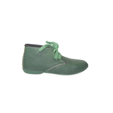 Ten Faux Leather Casual shoes For Women_tenbl161 - Green