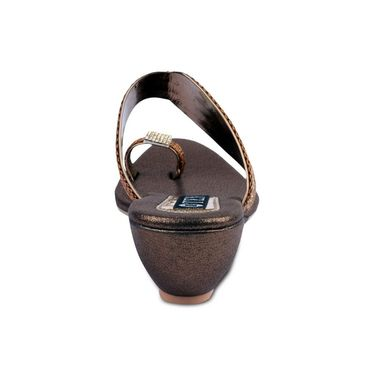 Ten Synthetic Sandals For Women_tenbl168 - Brown