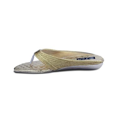 Ten Synthetic Sandals For Women_tenbl175 - Gold