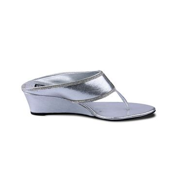 Ten Synthetic Sandals For Women_tenbl189 - Silver