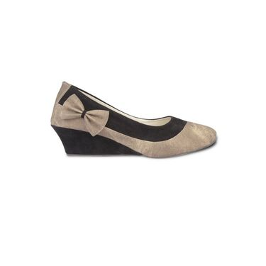 Ten Fabric Wedges For Women_tenbl211 - Beige