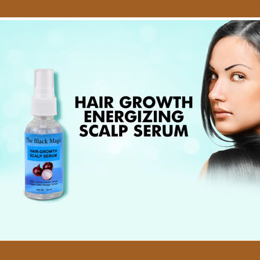 The Black Magic Hair Color Shampoo with Hair Growth Energizing Scalp Serum
