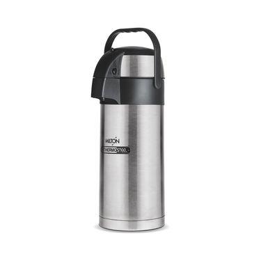 Milton Thermosteel Beverage Dispenser 3000-plain steel color FG-TMS-FIS-0045