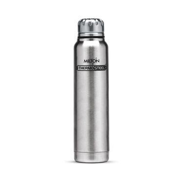 Milton Thermosteel Slender 750 Flask-Steel FG-TMS-FIS-0050