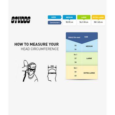 Studds - Full Face Helmet - Shifter (Matt Black) [Large - 58 cms]