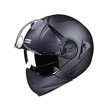 Studds - Full Face Helmet - Downtown Full Face Flip Off (Matte Black) [Large - 58 cms]