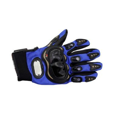Studds Shifter Helmet With Leather Gloves - Full Face Helmet Black L