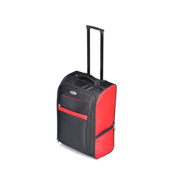 Top Gear 2 Wheeler Soft Luggage Trolley Bag Combo