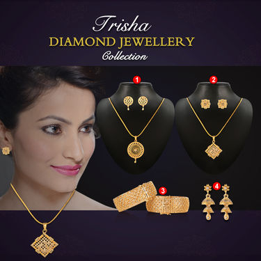 Trisha Diamond Jewellery Collection