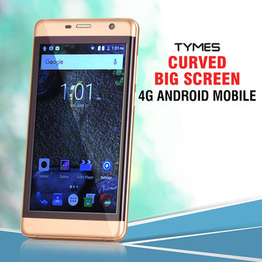 Tymes Curved Big Screen 4G Android Mobile