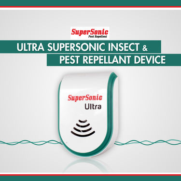 Ultra Supersonic Insect & Pest Repellent Device