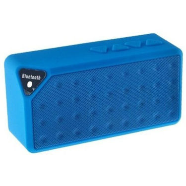 Adcom X3 Mini Wireless Mobile/Tablet Speaker - Blue