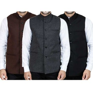 Pack of 3 Stylox Modi Jacket_Mj3bgb