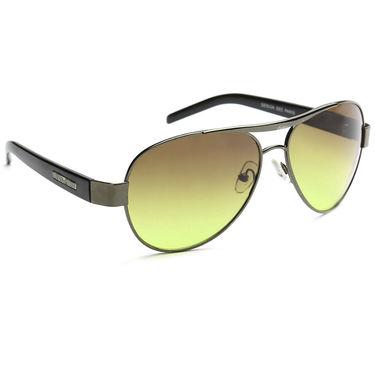 Alee Metal Oval Unisex Sunglasses_151 - Green