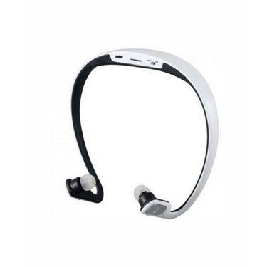 Vibrandz BQ-602P Wireless Bluetooth Headset - White