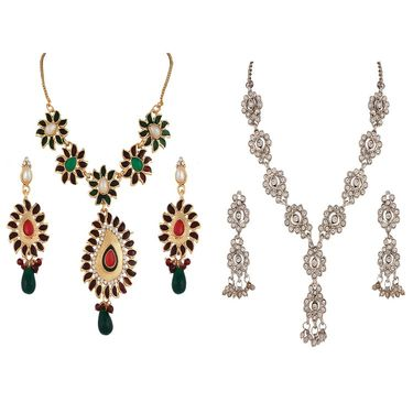 Combo of 2 Variation Necklace Sets_Vd14039