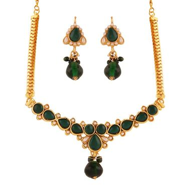 Combo of 8 Variation Necklace Sets + 3 Pearl Mala + 1 Pair of Bangle_Vd14055