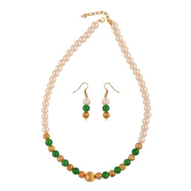 Combo of 2 Variation Pearl Mala With Earrings_Vd15981